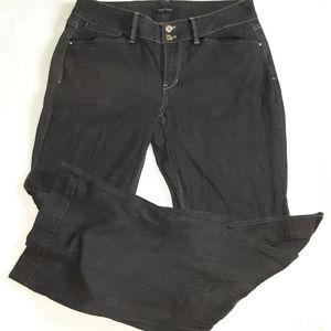 WHBM Wome's Contour Wide Leg Trouser Jeans Size 8R